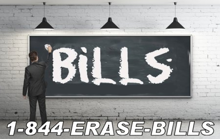 erase your bills